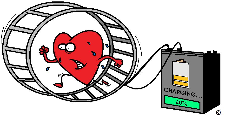exercise charging up the nitric oxide heart battery