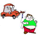 car making man fat