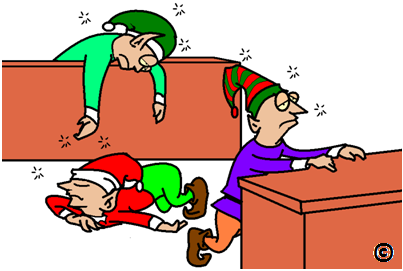Image result for exhausted elves