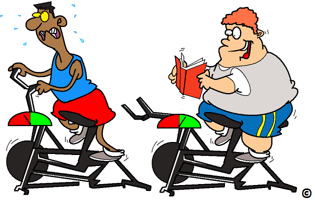 the overweight should exercise less to burn more fat clipart exercise girls clip art exercising