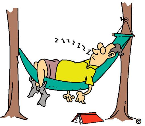 free clipart hammock cartoon - photo #14