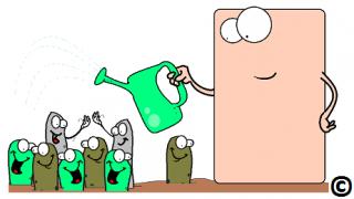 gut cell maintaining the gut garden