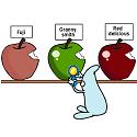 gut bacteria pinning granny smith apple