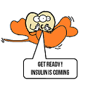 HISS ing that insulin is coming