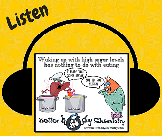 Listen fasting glycemia
