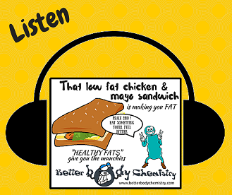 Listen low fat sandwich