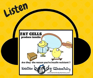listen to fat cells produce insulin