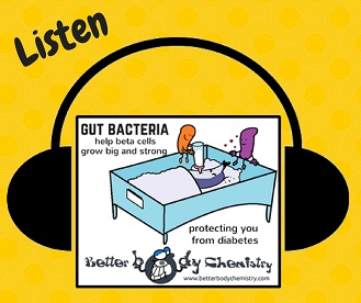 listen to how bacteria build your pancreas