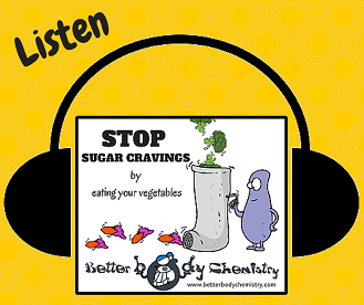 stop sugar cravings listen
