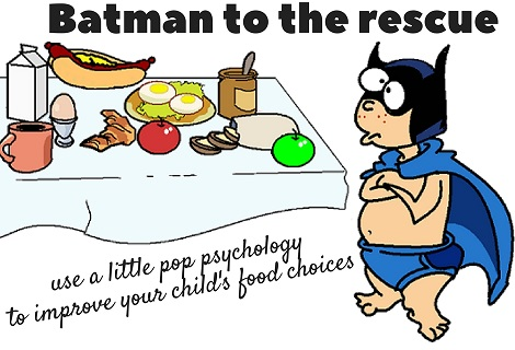batman doesn't eat junk