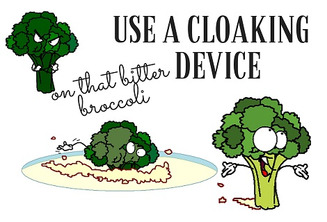 cloaking device for broccoli