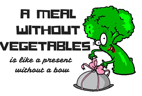 no vegetable meal