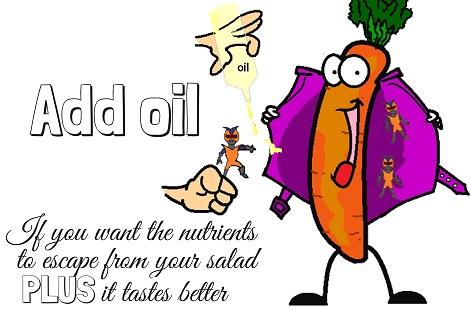 oil dressing salad taste