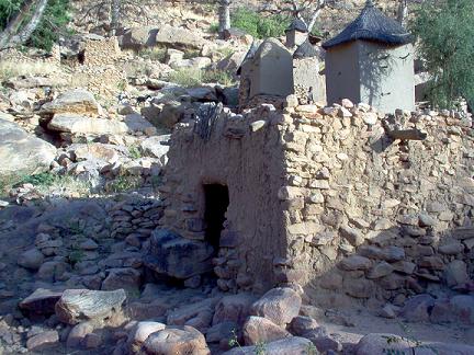 The menstruation hut in Tirelli Village in Mali