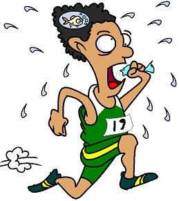 runner suffering from hyponatremia