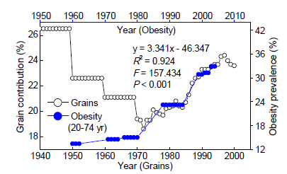 grains and obesity connection