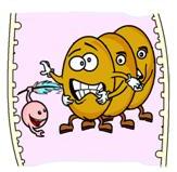 cranberyy tickling bacteria