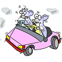 mice suffering a brain fog due to vehicle pollution
