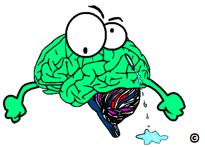 brain with a leak