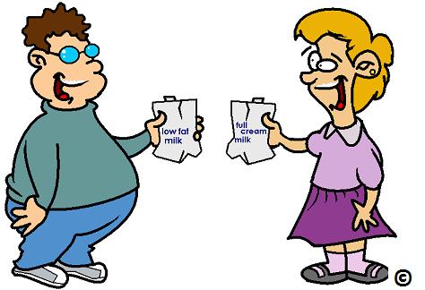 kids drinking milk