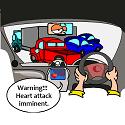 car doing a quick health check