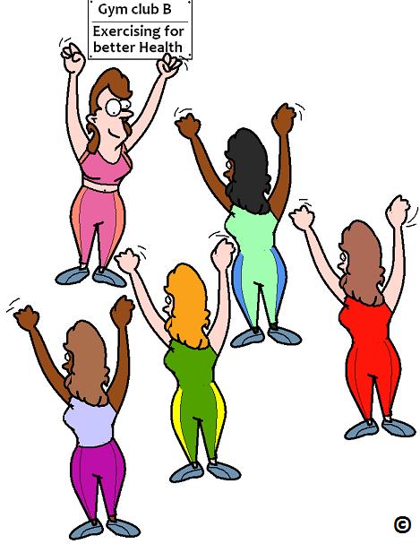 exercising for better health
