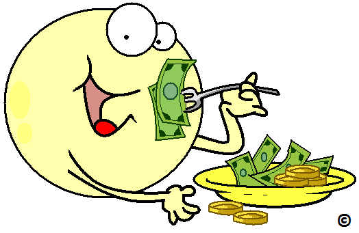fat cell eating money