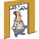 doorway scrambling brain