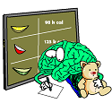 brain learning about calories