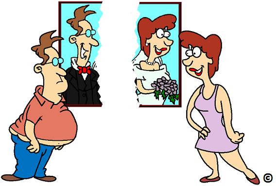 getting divorced causes weight gain in men