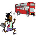 the running for the bus workout