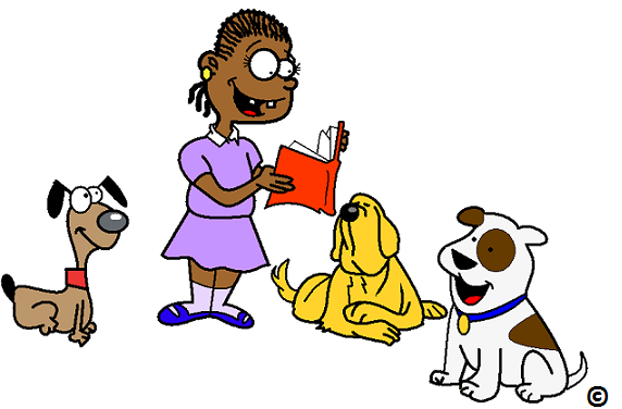 dog reading improves reading scores