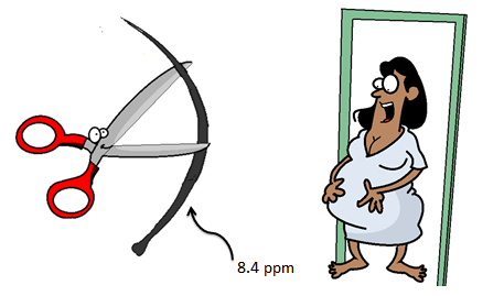 measuring mercury in hair samples from pregnant women