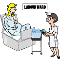 ice cubes being served in the labour ward tn