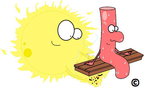 sun easing blood pressure