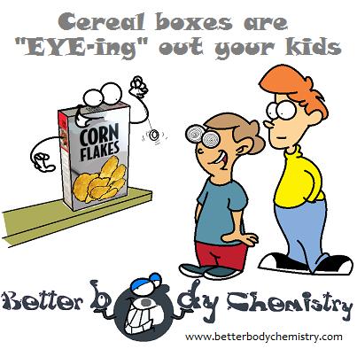 cereal box mesmerizing junior