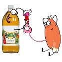 vinegar getting sugar into a muscle