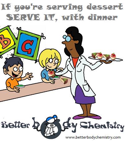 scuebtust serving dessert to small children