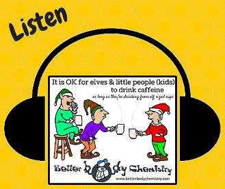 Listen caffeine elves