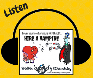 Listen to hire a vampire (Sound bites)