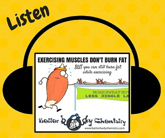 listen to fat burning and exercise