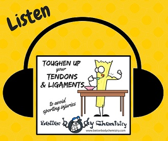 listen to toughen up your tendons