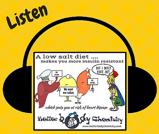 Listen low salt insulin resistance