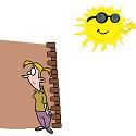 sun avoiding