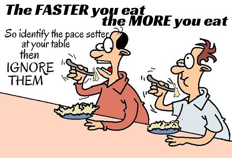a dinner race