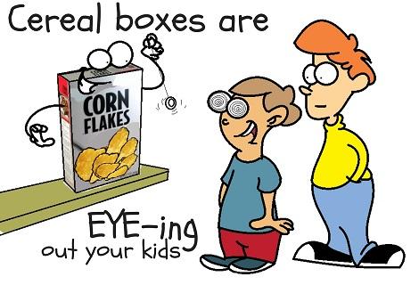 cereal box eye you