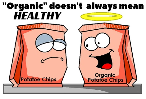 organic is not always healthy