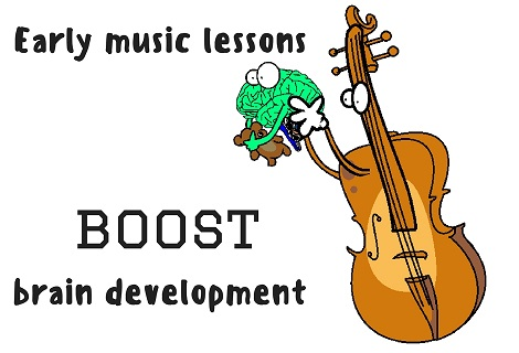 music boosting brain development