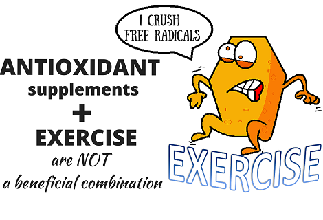 exercise antioxidants