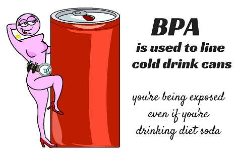 bpa in cold drink